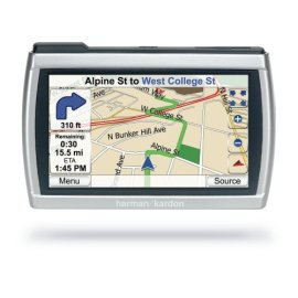 Harman Kardon GPS-510 4 Widescreen GPS Navigator / Media Player