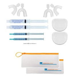 2 Complete Professional 35% Tooth Whitening Kits - Optimized Formula By Watts Power White
