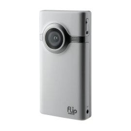 Flip Video Mino Series Camcorder, 60 Minutes (White)