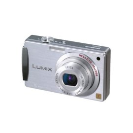 Panasonic Lumix DMC-FX500 10.1MP Digital Camera with 5x Wide Angle MEGA Optical IS Zoom (Silver)