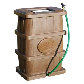Achla RB-03 Rain Barrel (50 Gallon Capacity)
