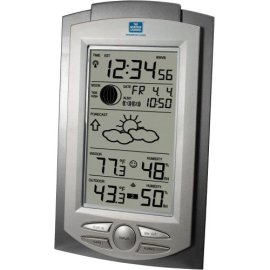 The Weather Channel WS-9031TWC Projection Weather Station - Silver