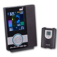 Taylor Wireless Color Weather Station with NOAA Weather Radio