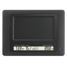 Polaroid 7 Digital Photo Frame with Weather Station - XSA-00770S