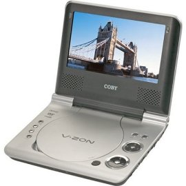 "Coby TF-DVD7107 7"" Portable DVD Player"