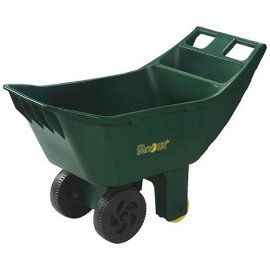 Ames True Temper 4cf Easy Roller Lawn Cart #2463875