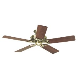 Hunter Summer Breeze 52-Inch Five-Blade Ceiling Fan, Antique Brass #25511