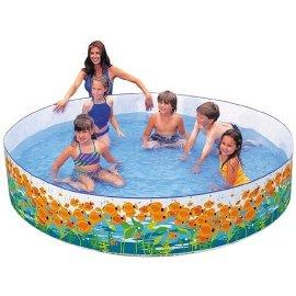 8' x 18 Sun Fish Snapset Pool