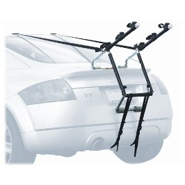Allen Deluxe 3-Bike Trunk Mount Rack - Blk/ Silver