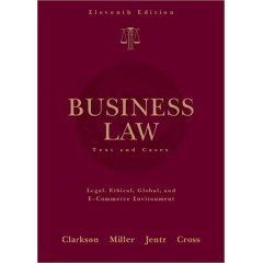 West's Business Law: Text and Cases (11th Edition)