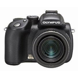 Olympus SP-570UZ 10MP Digital Camera with 20x Optical Dual Image Stabilized Zoom