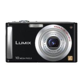 Panasonic Lumix DMC-FS5K 10MP Digital Camera with 4x Wide Angle MEGA Optical Image Stabilized Zoom (Black)