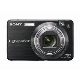 Sony Cybershot DSCW170/B 10.1MP Digital Camera with 5x Optical Zoom with Super Steady Shot (Black)
