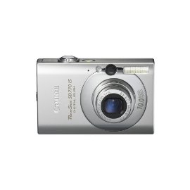 Canon PowerShot SD770IS 10MP Digital Camera with 3x Optical Image Stabilized Zoom (Silver)