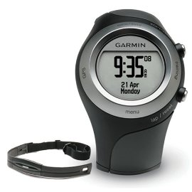 Garmin Forerunner 405 GPS Watch with Heart Rate Monitor (Black)