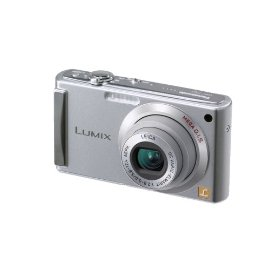 Panasonic Lumix DMC-FS3 8MP Digital Camera with 3x MEGA Optical IS Zoom (Silver)
