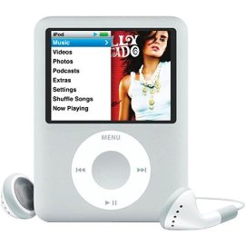 Apple iPod nano 4 GB Silver, Clamshell Package