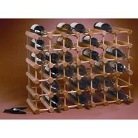 J.K. Adams MWR-40 40-Bottle Wine Rack, Natural