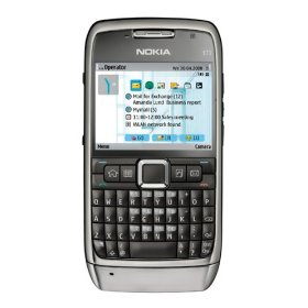 Nokia E71 Unlocked with 3.2 MP Camera, 3G, Media Player, GPS  (U.S. Version with Warranty)