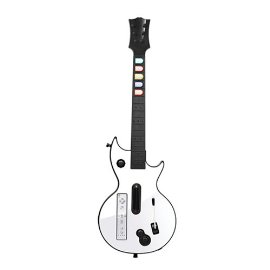 Wii Shred Ax White Guitar
