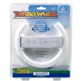 Wii Turbo Wheel - White