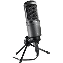 Audio Technica AT2020USB Condenser USB Microphone - Ideal for Podcasts