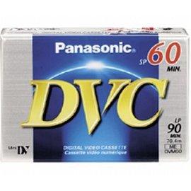 Panasonic AY-DVM60EJ 60 Minutes Mini DV Video Tape Cassette 50 Pack