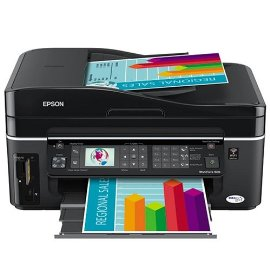 Epson WorkForce 600 Wireless All-in-One Printer