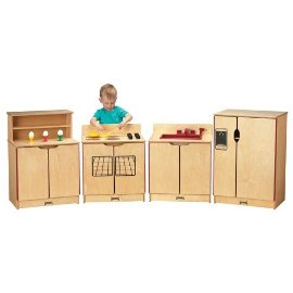 Jonti-Craft 04061JC KINDER-KITCHEN REFRIGERATOR