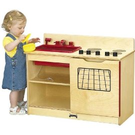 Jonti-Craft 0672JC 2-in-1 KINDER-KITCHEN