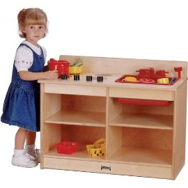 Jonti-Craft 0673TK Thriftykydz 2-In-1 Toddler Kitchen