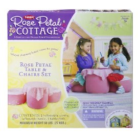 Playskool Rose Petal Table And Chair Dinette (Rose Petal Cottage)