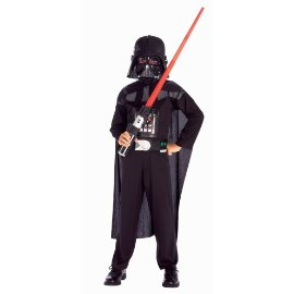 Rubies Star Wars Darth Vader Action Suit Child, Size 8 to 10