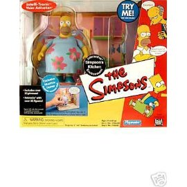 Simpsons Series 6 Kitchen Playset Muumuu Homer Figure