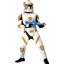 Star Wars The Clone Wars Rubies Costume #883207 Deluxe Clone Trooper Commander Cody