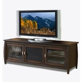 Techcraft Veneto Series SWP60 TV Stand - Mahogany