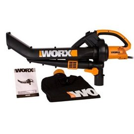 Worx TriVac WG500 12-Amp All-in-One Electric Blower/Mulcher/Vacuum