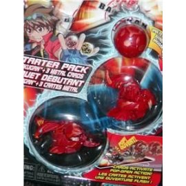 Bakugan Battle Brawlers Starter Pack Series: Red Starter (Secret Marble - Dragonoid - Skyress)