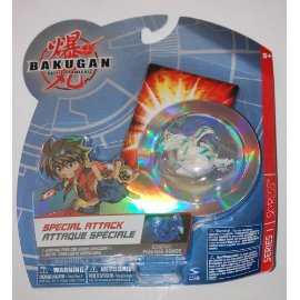Bakugan Battle Brawlers Special Attack Jumping Skyress [White & Green]