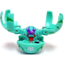 Bakugan Battle Brawlers Game Single LOOSE Figure Zephyroz Fear Ripper [Green]