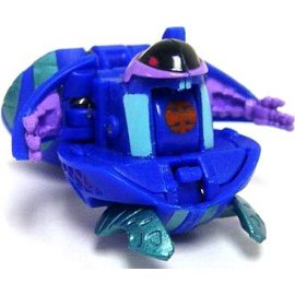Bakugan Battle Brawlers Game Single LOOSE Figure Aquos Preyas [Blue] 400 G