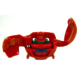Bakugan Battle Brawlers Game Single LOOSE Figure Nova 12 Gorem [Red]