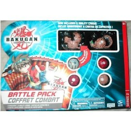 Bakugan Battle Pack (6 Bakugan , 6 Metal Cards, 6 Ability Cards) Series 2 - Style H