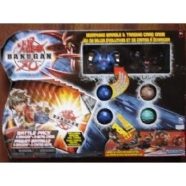 Bakugan Battle Pack 6-Pack Black Vs Blue