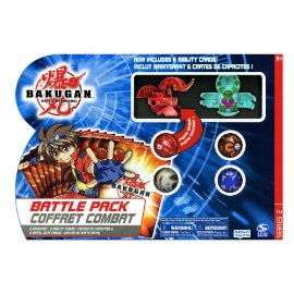 Bakugan Battle Pack Coffret Combat (Styles and Colors May Vary)