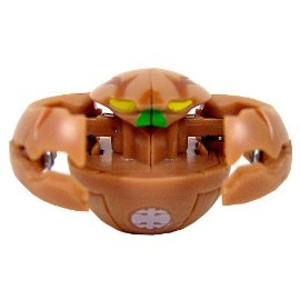 Bakugan Single LOOSE Figure Subterra TERRORCLAW Brown - 650G