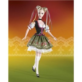 Barbie Dolls of the Word: Octoberfest Barbie Doll