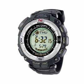 Casio Pathfinder PAW1500-1V Multi-Band 5, Triple Sensor, Solar Atomic Watch