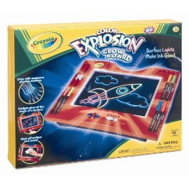 Crayola Color Explosion Glow Board