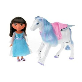 Fisher-Price Dora Saves the Snow Princess Prance & Fly Pegasus